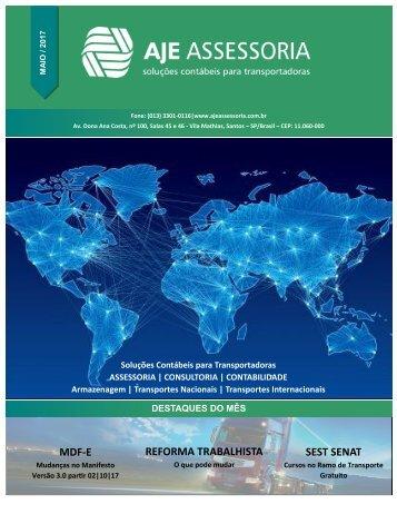 Informativo AJE - Mai 2017