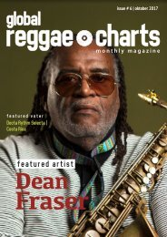 Global Reggae Charts - Issue #6 / October 2017