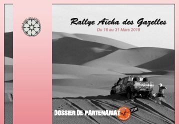 Dossier de Partenariat RAG