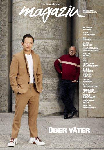 Frankfurter Allgemeine Magazin - Väter und Söhne mit DJ Hell