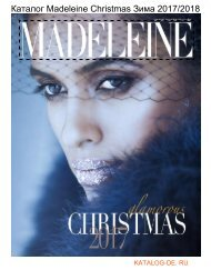 Каталог madeleine christmas Зима 2017/2018.Заказывай на www.katalog-de.ru или по тел. +74955404248.