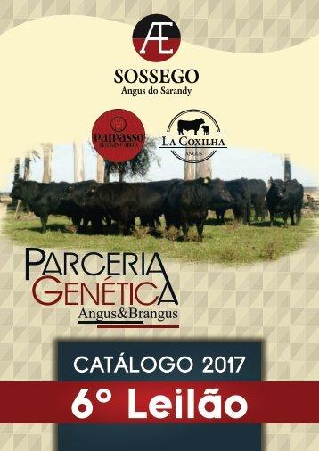 CATÁLOGO PARCERIA GENÉTICA 2017