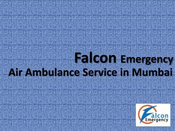 Air Ambulance Service Mumbai