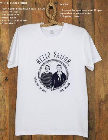 Hello Sailor Men's Spring Summer Line Price pdf
