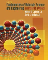 Fundamentals of Materials Science and Engineering (3rd Edition)