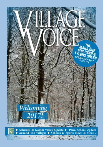 Village Voice Feb / March 2017 Issue 178