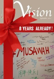 Vision Newsletter September