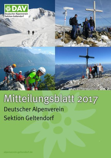 Mitteilungsblatt 2017