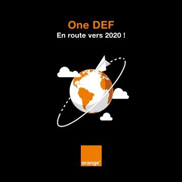 One DEF, en route vers 2020