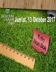 e-Kliping, Jum'at 13 Oktober 2017