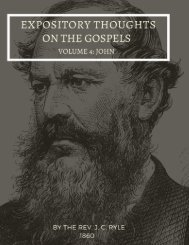 The Book of John - Expository Thoughts on the Gospels by J.C. Ryle