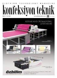 Konfeksiyon Teknik Dergisi Ekim 2017 Sayısı