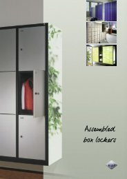 "the ""vandal-proof"" assembled box lockers - Modern Office Systems"