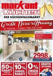 Große Neueröffnung in Herne - Feiern Sie mit uns! Rabatte, Finanzierung, kostenlose Lieferung!