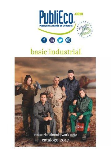 Catálogo de ropa laboral industrial