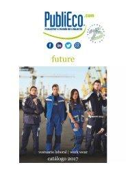 Catálogo de ropa laboral Future