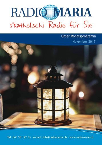 Radio Maria Schweiz - November 2017