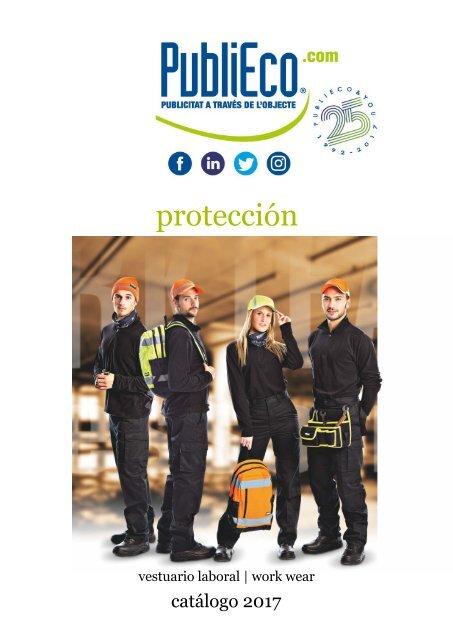 Catálogo de ropa laboral Protección