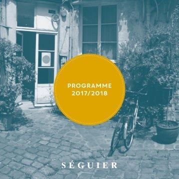 Programme hiver 2017 - printemps 2018