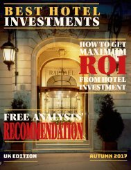 Get Maximum ROI from Hotel Investment