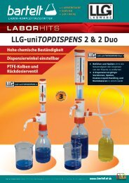 Bartelt Flyer of the week - LLG uniTOPDISPENS 2 Duo