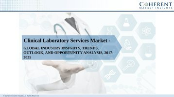 Global Clinical Laboratory Services Market to Mid US$ 300 Billion Level by 2024