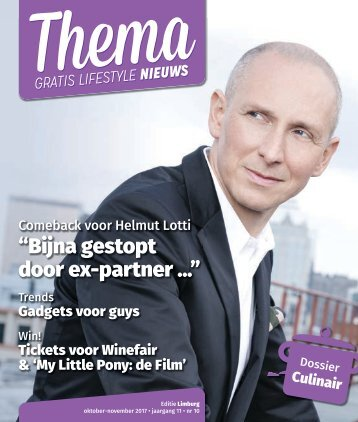 171020 Thema oktober november 2017 - editie Limburg