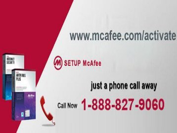 McAfee.com/Activate | McAfee Activate | 1-888-827-9060