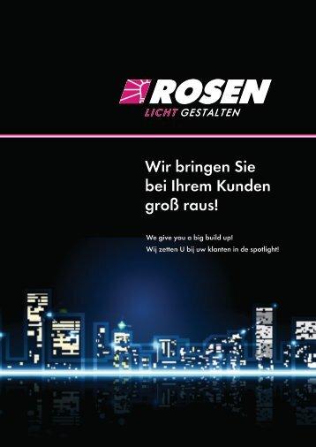 ROSEN Imagebroschüre