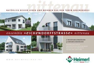 Exposee »Ensemble Eichendorffstraße« Nittenau