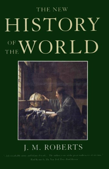J. M. Roberts The New History of the World