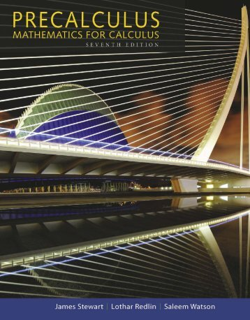Precalculus - Mathematics for Calculus - 7th Edition (2015)