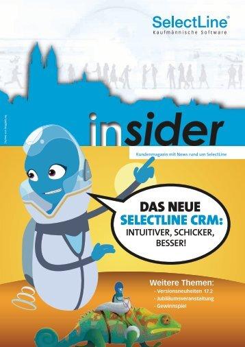 Der SelectLine insider Nr. 2 in 2017