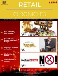 RETAIL CHRONICLES 6th edition
