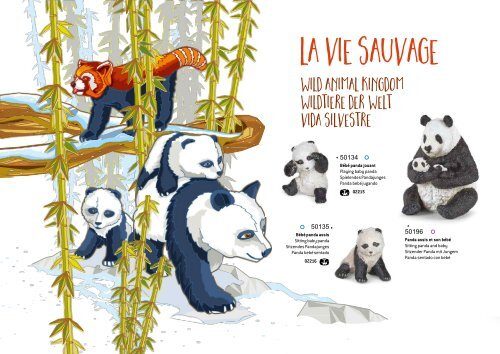 PAPO Wild Animal Kingdom Grand loup 50211 nouveau