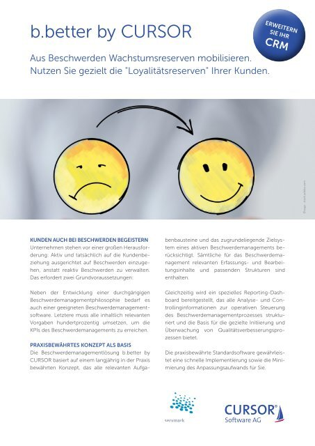 b.better by CURSOR - Beschwerdemanagement