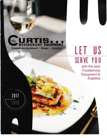 2017-2018 Curtis Restaurant Equipment Catalog
