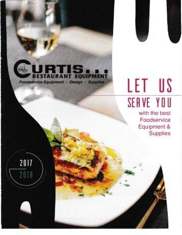 2017-2018 Curtis Restaurant Equipment Catalog