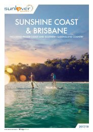 Sunshine Coast and Brisbane 2017/18