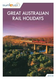 Great Australian Rail Holidays 2017/18