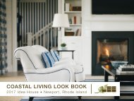 LEE Coastal Living Lookbook | 2017 Idea House