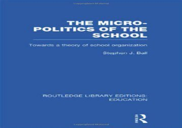 The-MicroPolitics-of-the-School-Towards-a-Theory-of-School-Organization