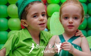 Bento & Helena -3 anos