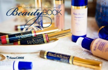 SeneGence Beauty Book - Fall 2017