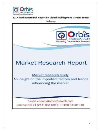 Global Mobilephone Camera Lenses Market