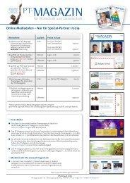 Online Mediadaten Special-Partner 2019