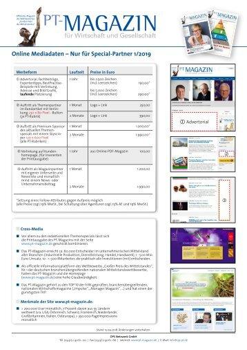 Online Mediadaten Special-Partner 2018