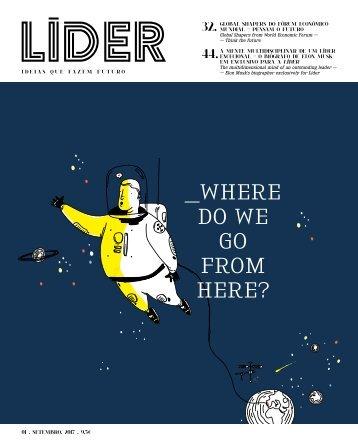 Revista Líder – Setembro(2017) Nº1 Gratuito