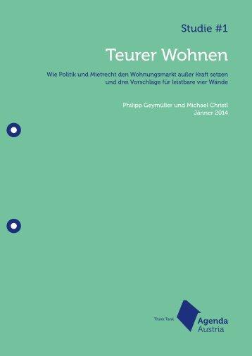 Agenda-Austria-Studie-Teurer-Wohnen