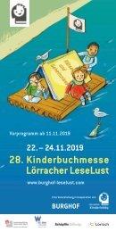 Kinderbuchmesse Leselust 2019